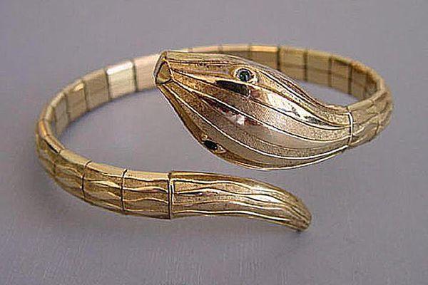 Rolled Gold Snake