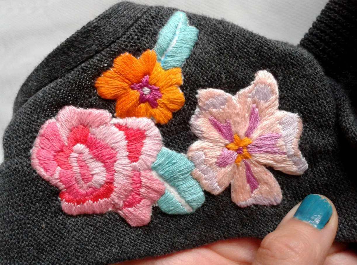 Embroidery Embellished Clothing