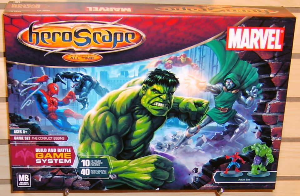 Marvel HeroScape Box
