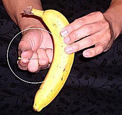 banana magic trick pin