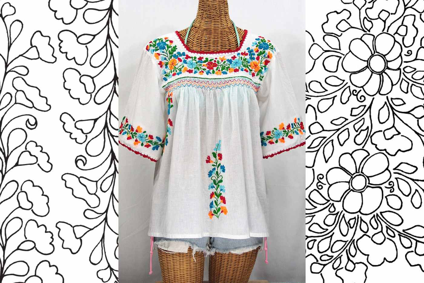 Mexican Embroidery Patterns Unique Inspiration Ideas