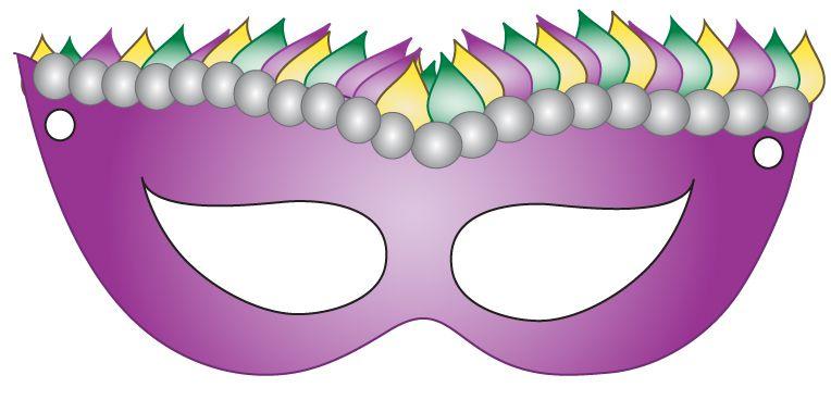 8 free printable masquerade and mardi gras masks