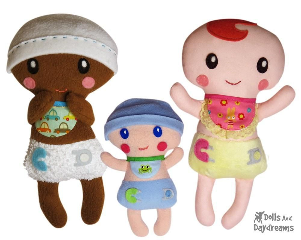 Bitty Bubs Baby Doll Sewing Pattern