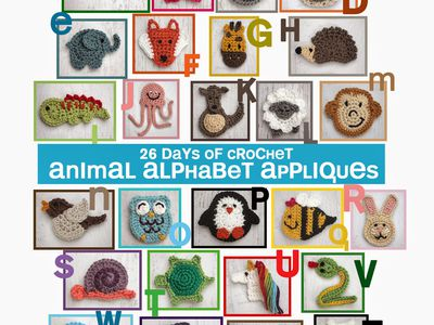Free Crochet Animal Applique Patterns