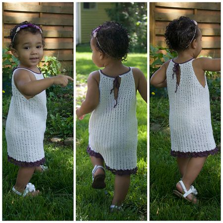 8a4a17e8968 15 Precious Crochet Newborn Dress Patterns