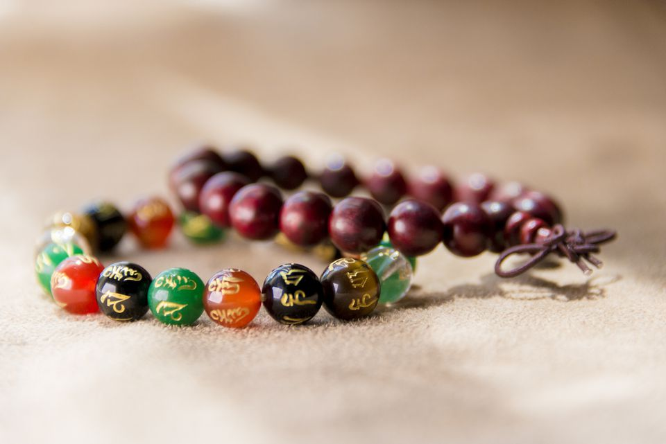 Buddhist Prayer Mala Beads