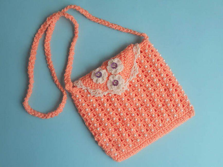 Beaded Crochet Purse Free Pattern