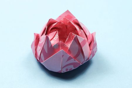 Easy Origami Lotus Instructions
