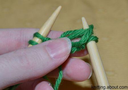 Knit Two Color Brioche Stitch
