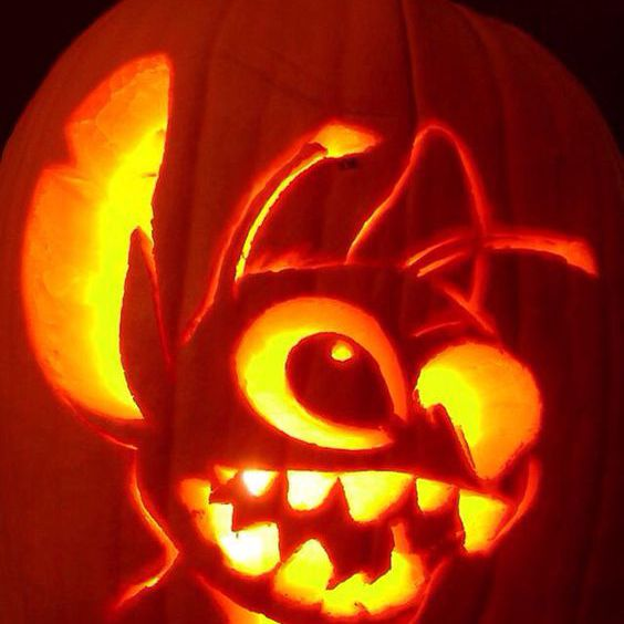 Halloween Movie Pumpkin Drawing.25 Creative Pumpkin Carving Ideas