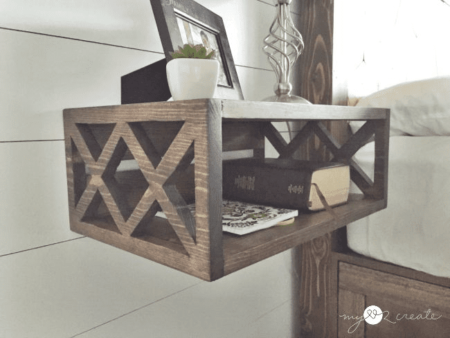 Night Stand Table Designs : 15 diy nightstand plans that are completely free
