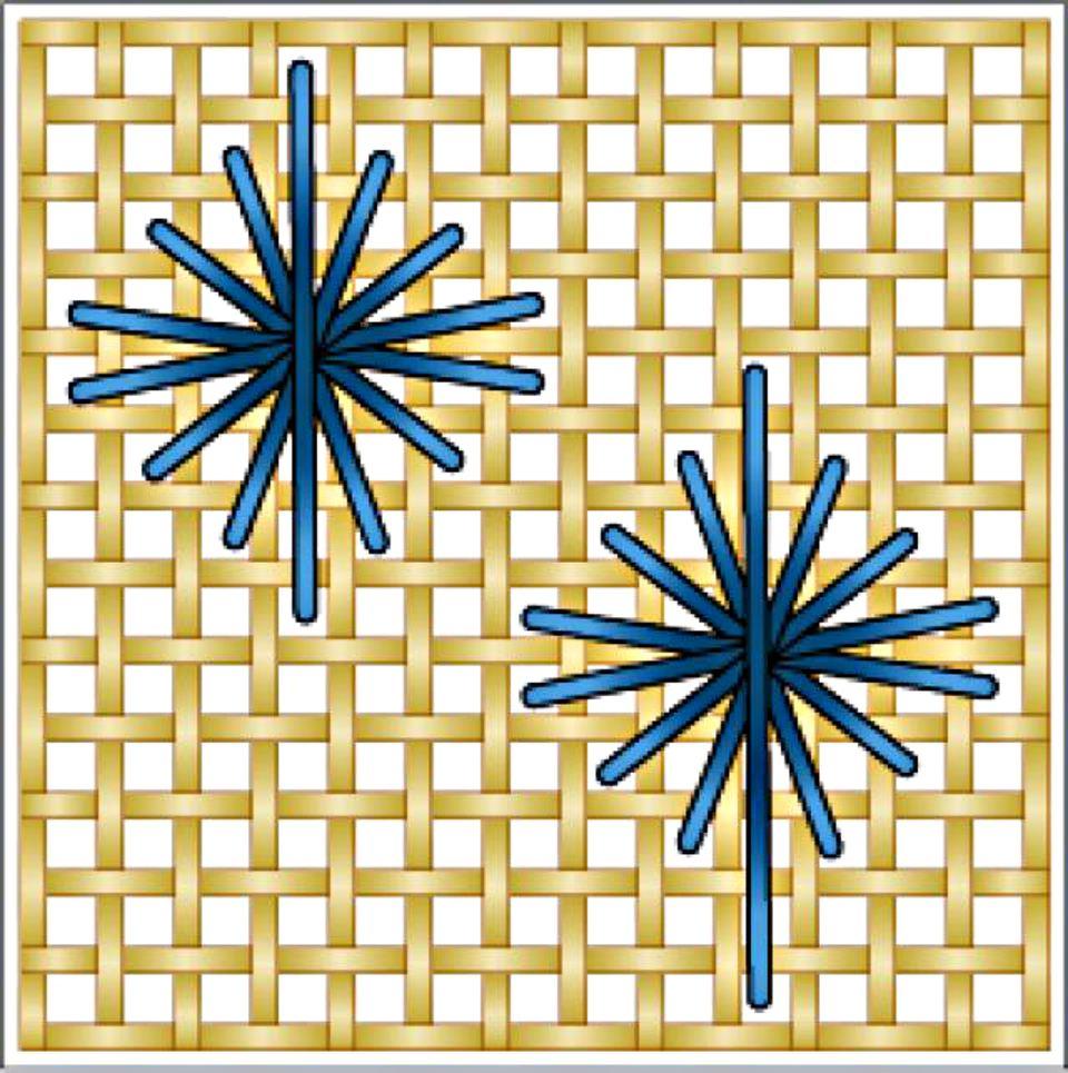 Star Stitch Diagram