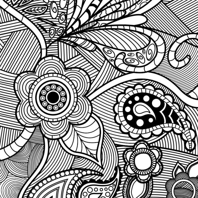 - Free, Printable Coloring Pages For Adults