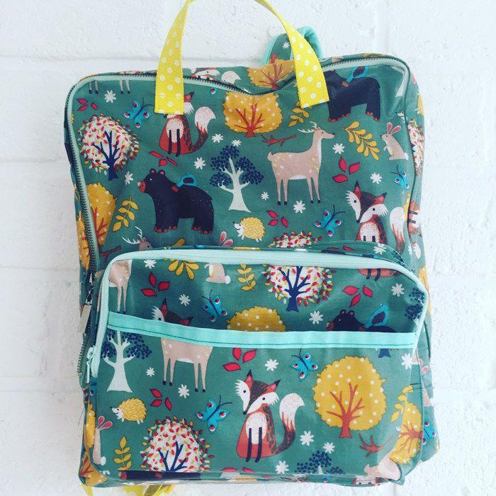 School Backpack Sewing Tutorial & Pattern