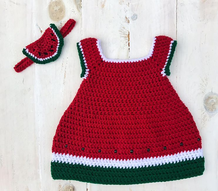 f53b2d3e6 15 Precious Crochet Newborn Dress Patterns