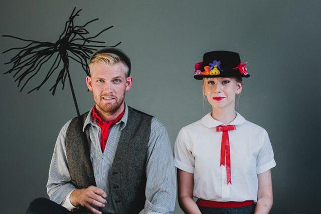 DIY Mary Poppins and Bert