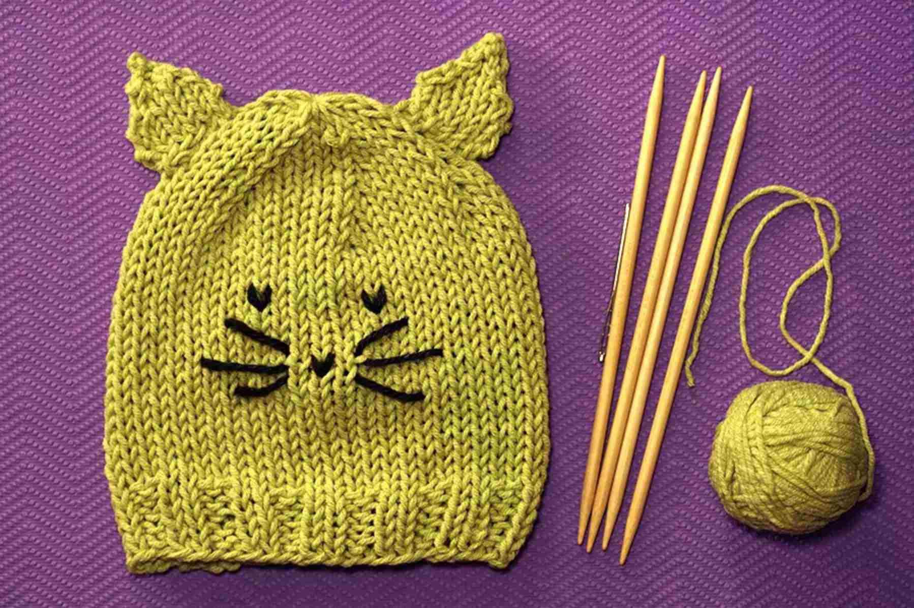 Cute Kitty Hat Pattern