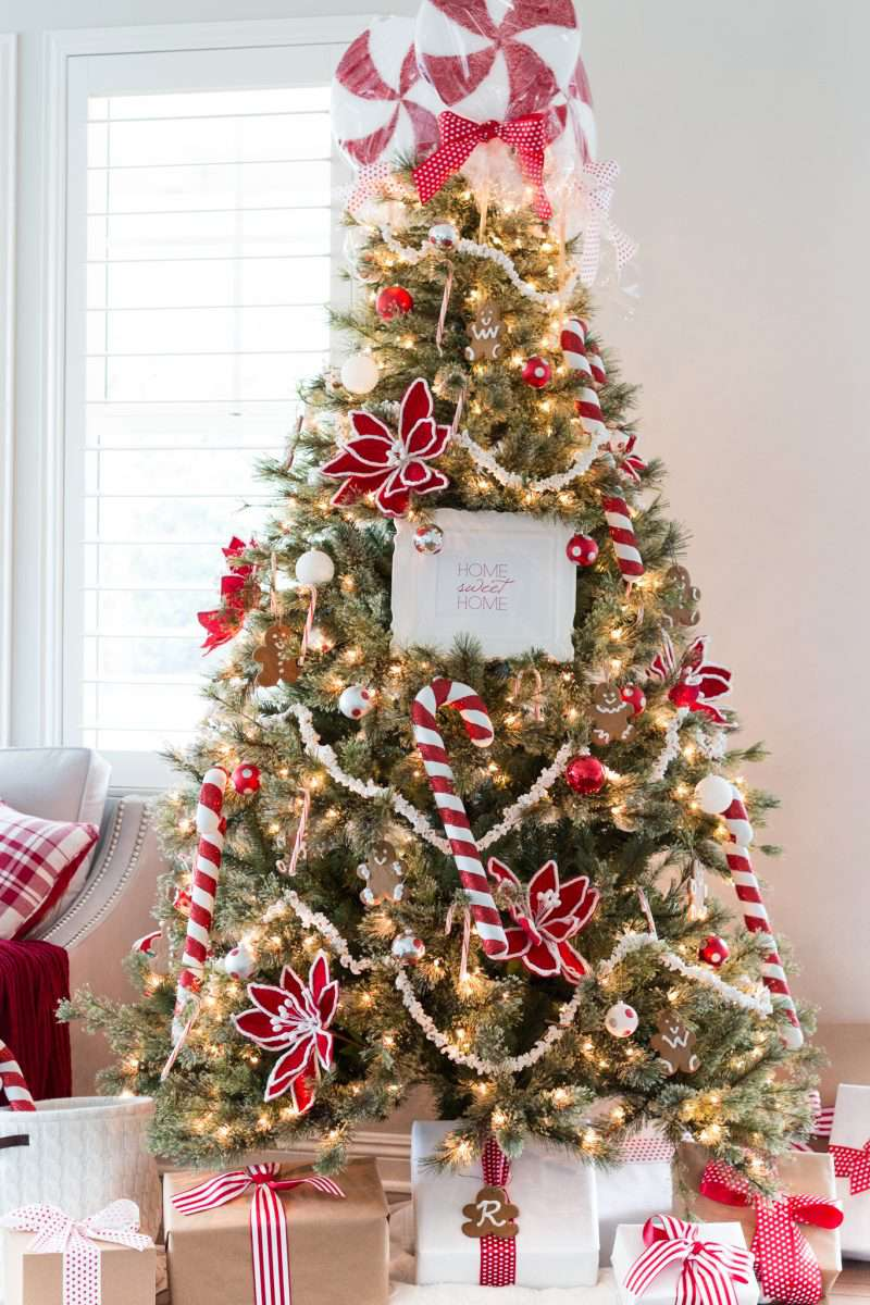 Peppermint Tree Toppers