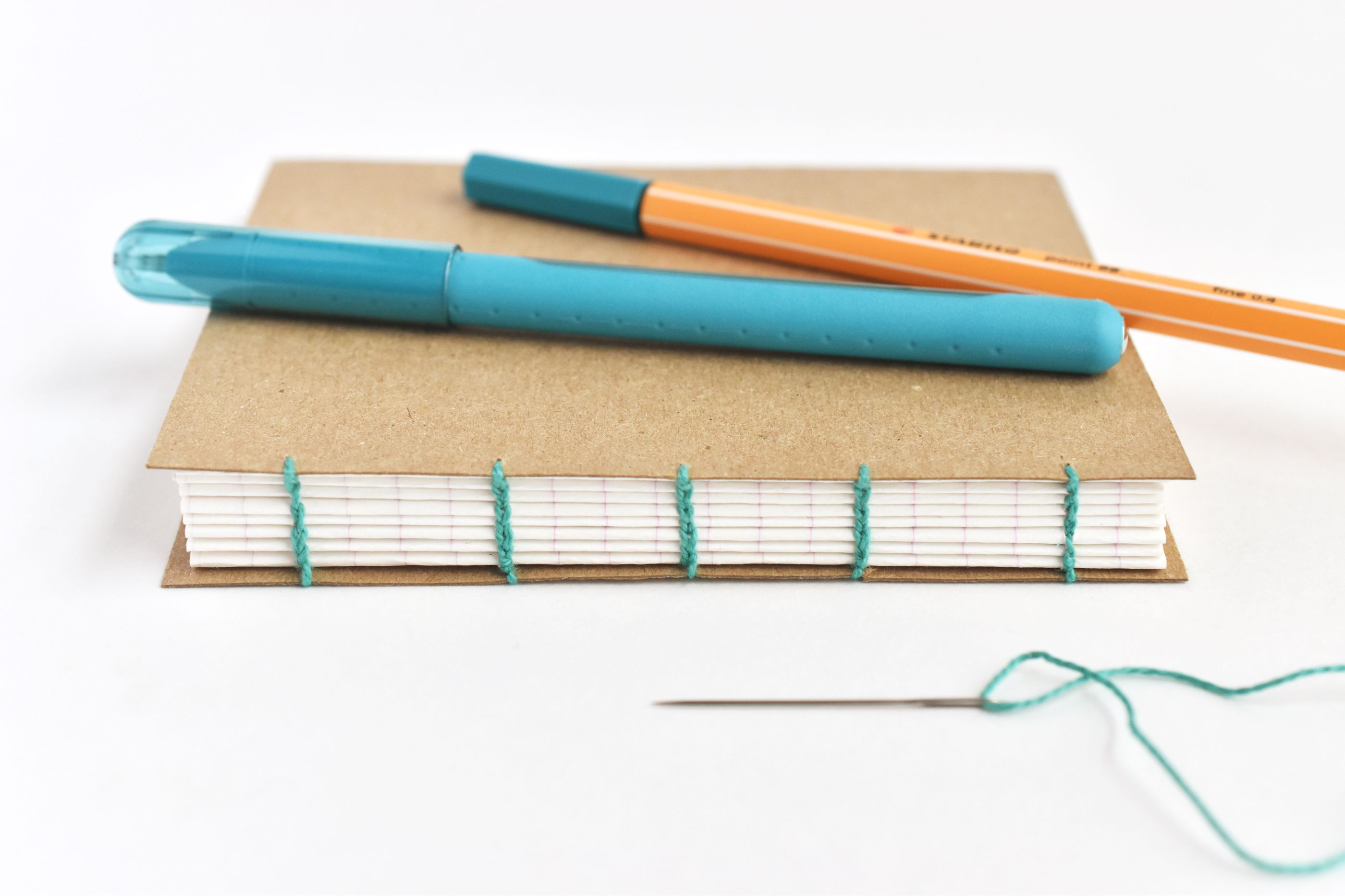 Learn How to Bind Books with Coptic Stitch