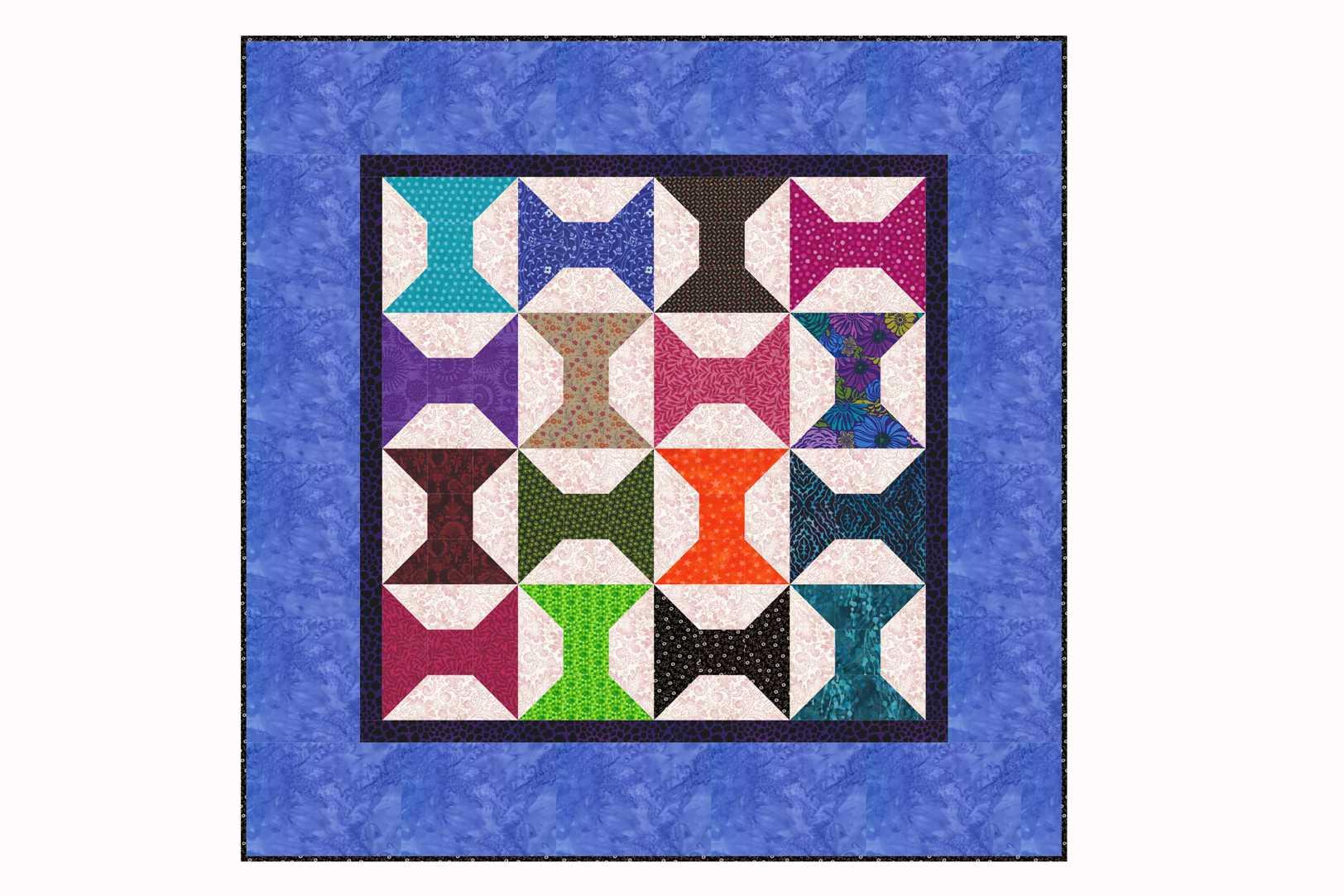 3 Fabric Quilt Patterns Interesting Decorating Design