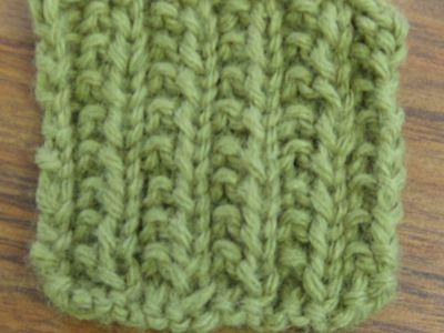 Trinity Cluster Bramble Stitch Knitting Pattern