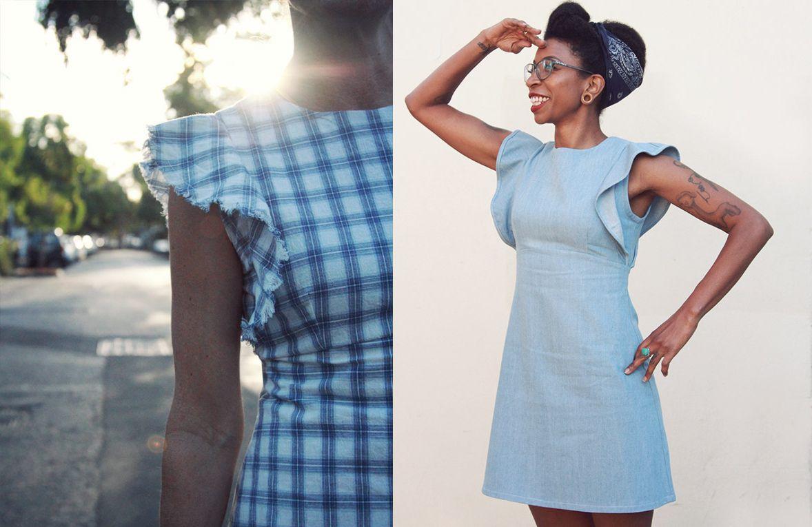 Sienna Shift Dress Sewing Pattern