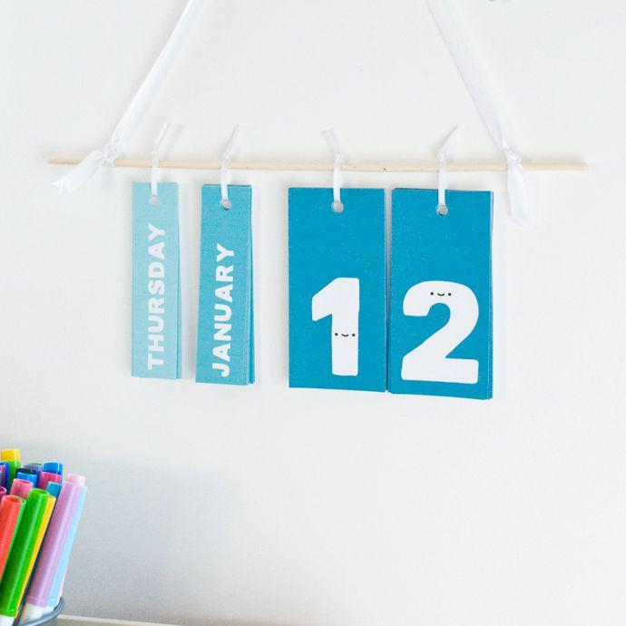 Hanging Perpetual Calendar