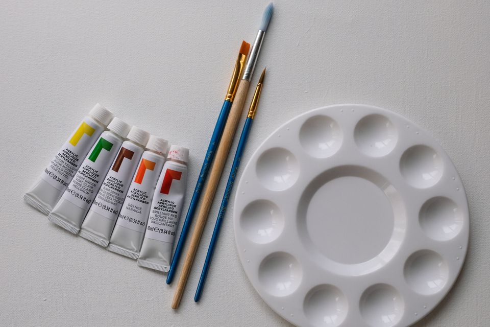 fall painting supplies