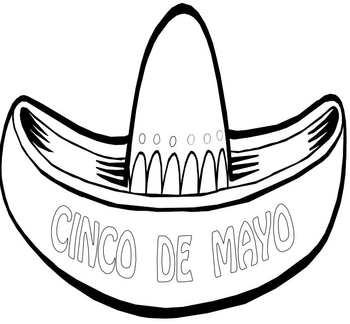 √ Mexico Coloring Sheets For Kids | Printable Mexican Coloring Pages | 644x695