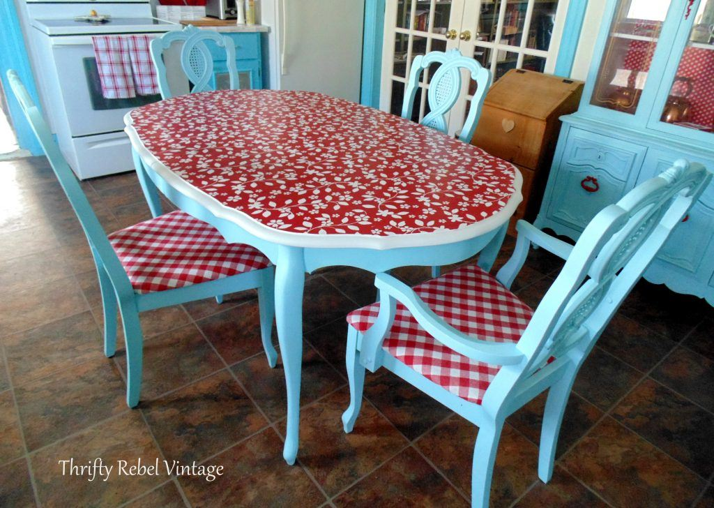 10 Unique Ways To Update A Table With Decoupage