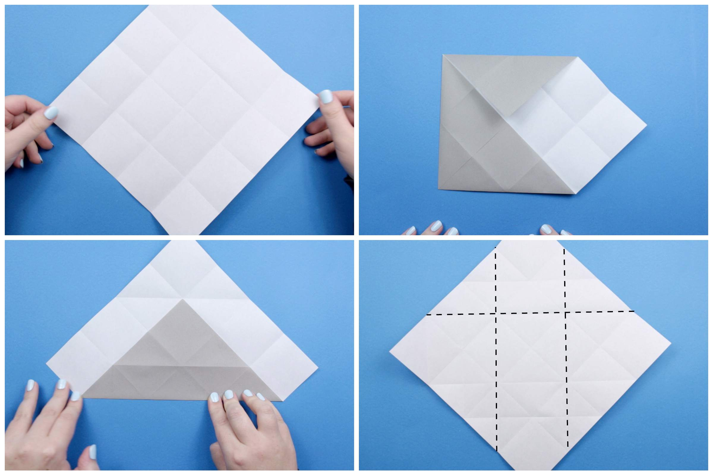 How To Make An Origami Elephant Cat Diagram