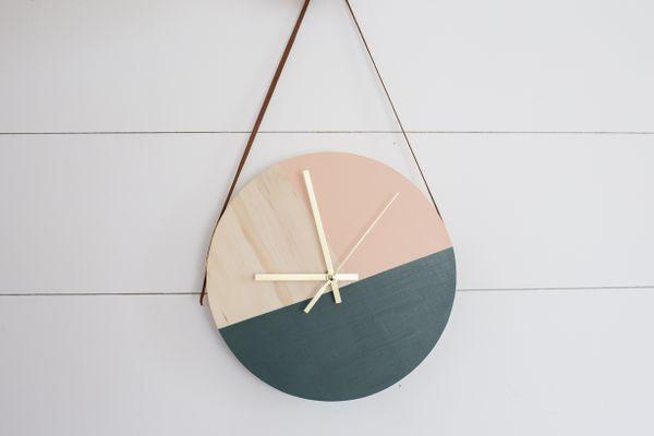 DIY custom clock