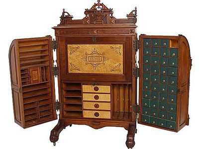 The Amazing Collectible Wooton Desk