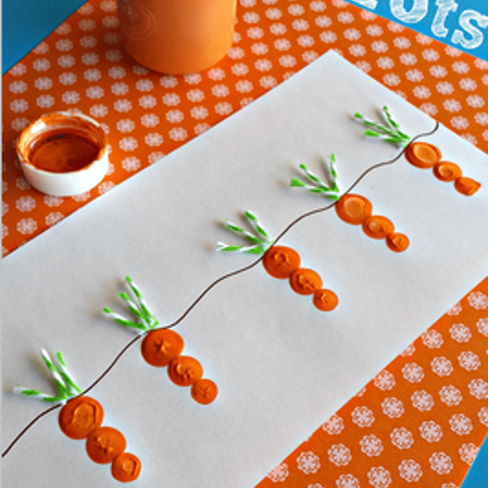 Carrot craft project