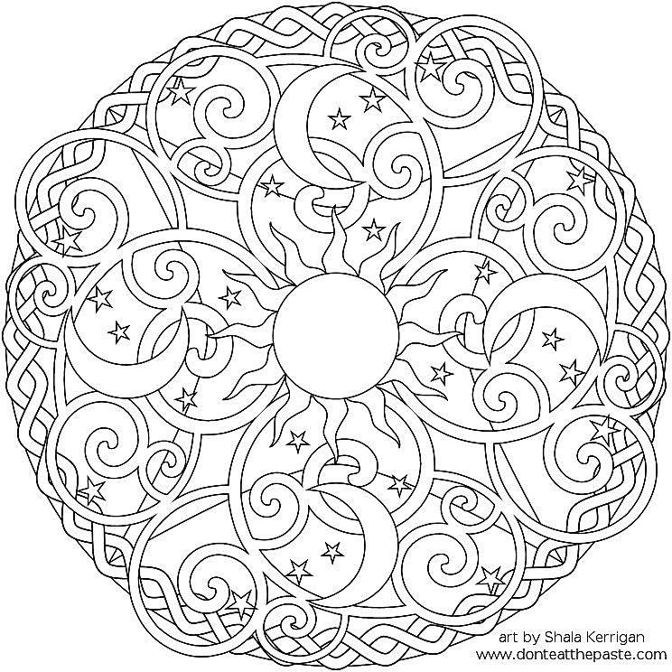 free printable mandala coloring pages for adults 1,000+ Free, Printable Mandala Coloring Pages for Adults free printable mandala coloring pages for adults