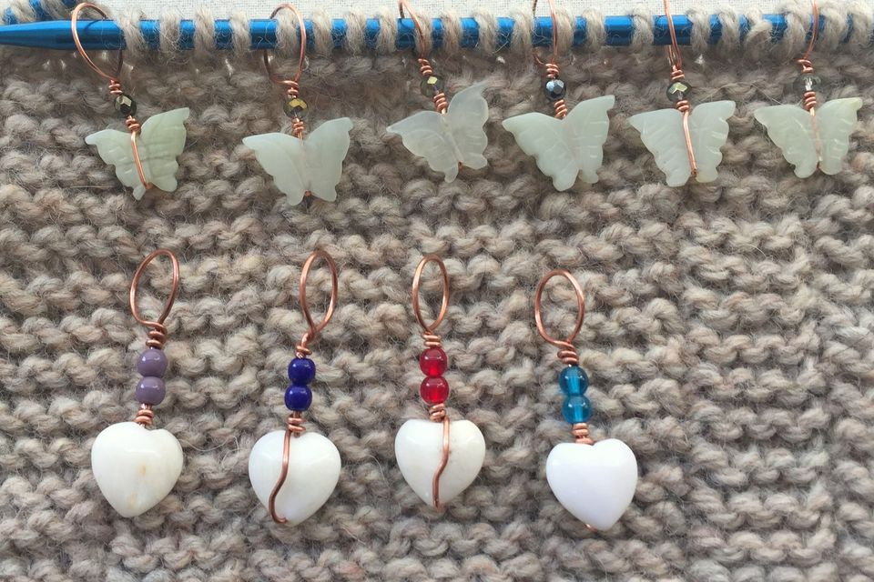 Bead stitch markers