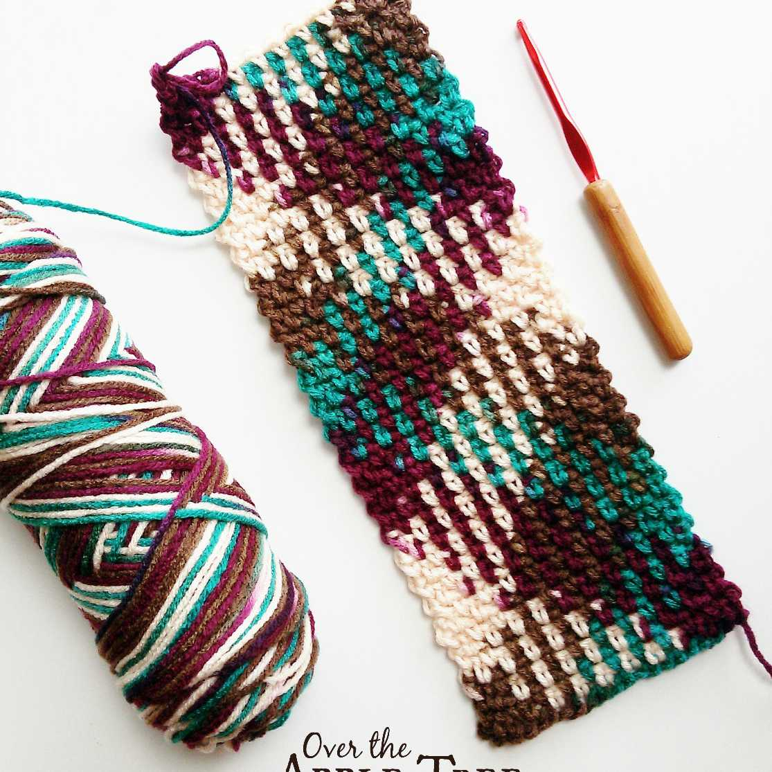 Colorwork Planned Pooling In Crochet