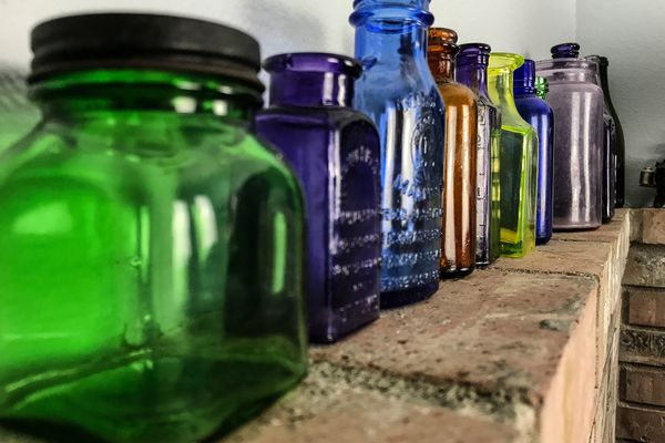 Rare bottle collection