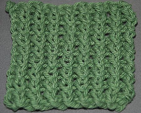 Learn The Twisted Rib Knitting Stitch