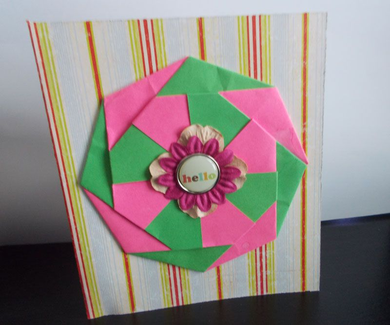 10 Ideas For Origami Greeting Cards
