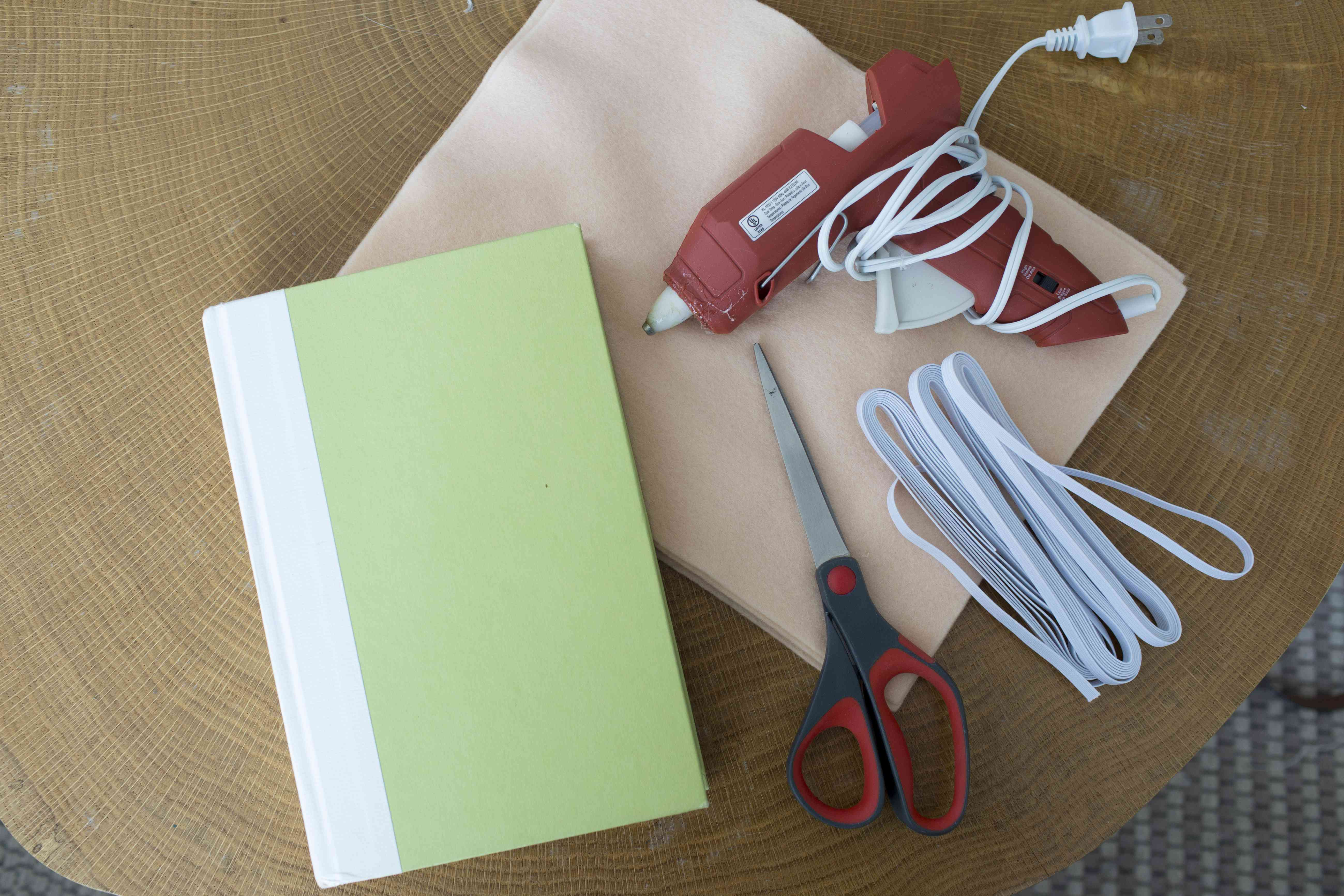 Supplies for making your own tablet case
