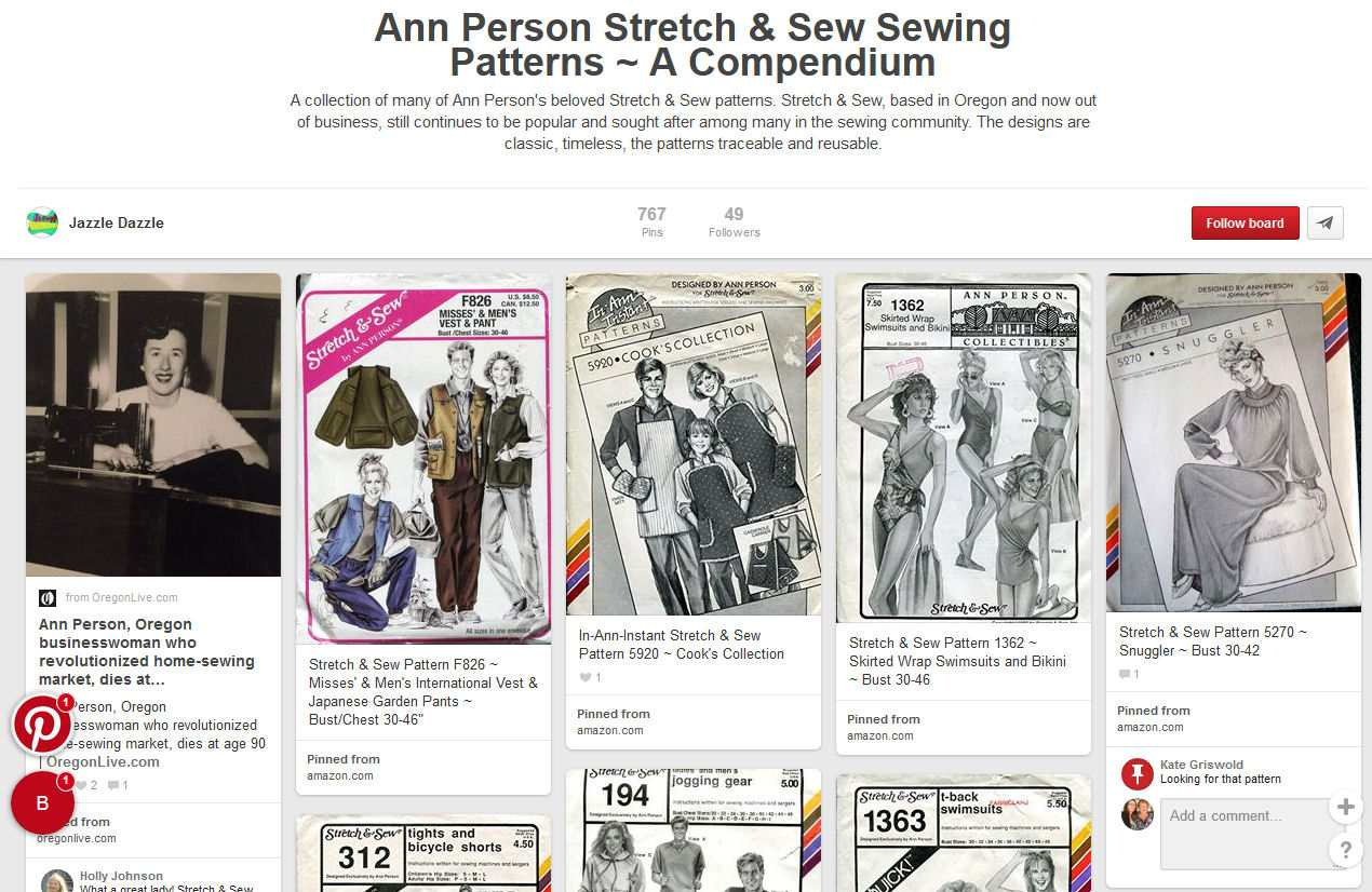 Stretch and Sew Sewing Patterns