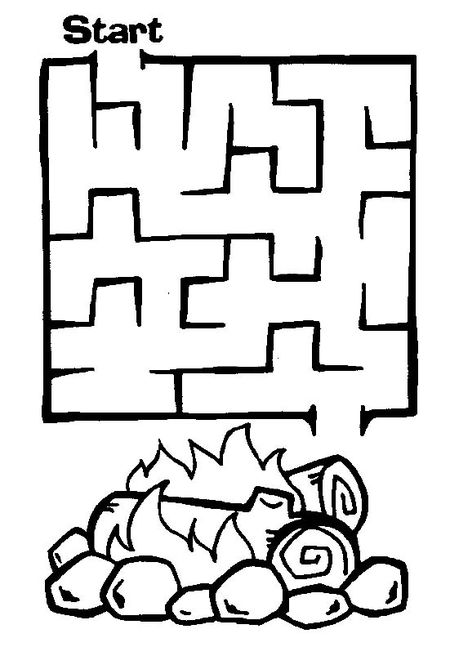 An Easy Maze To A Fire