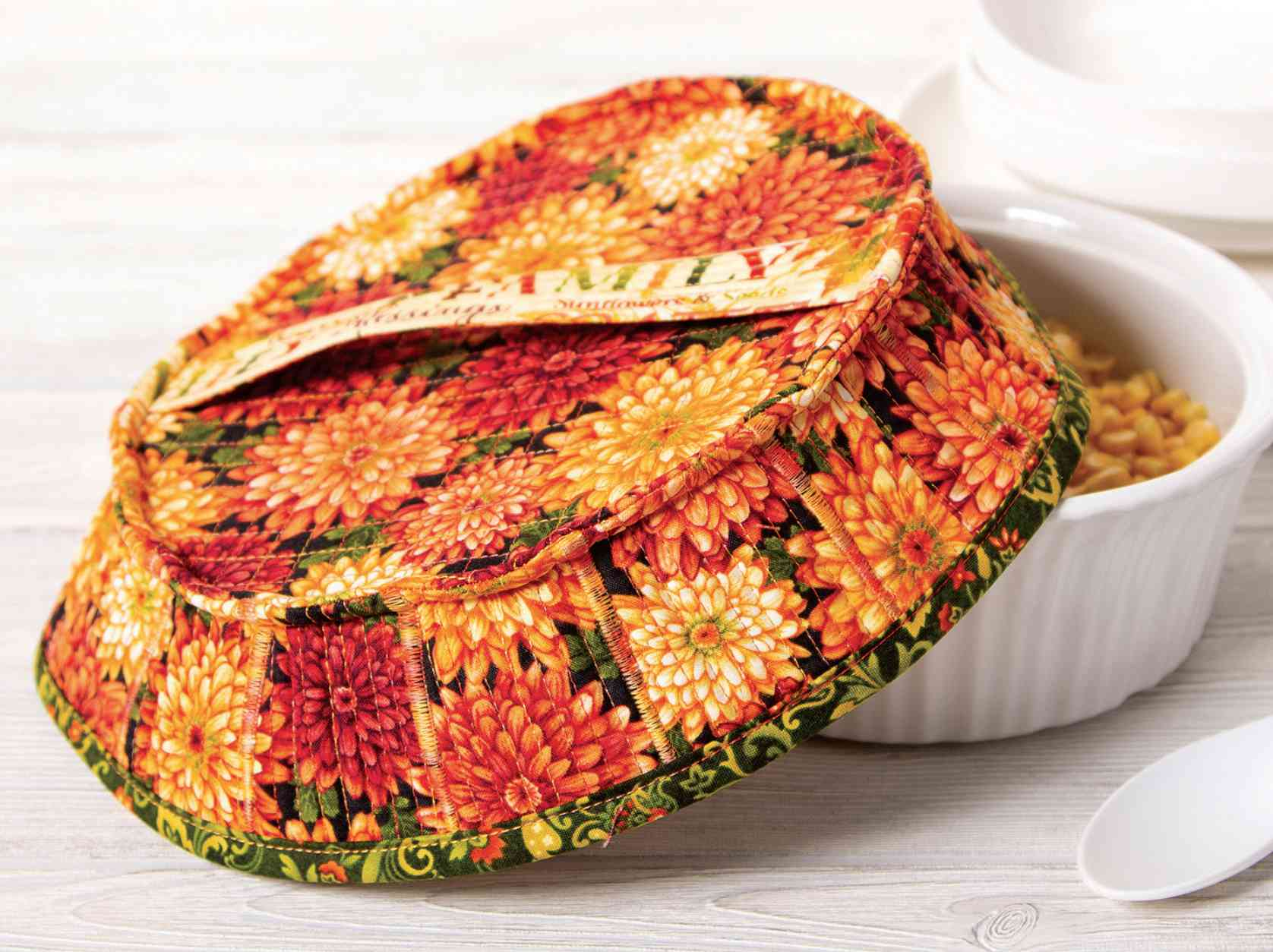 10 Microwave Dish And Bowl Cozy Sewing Patterns