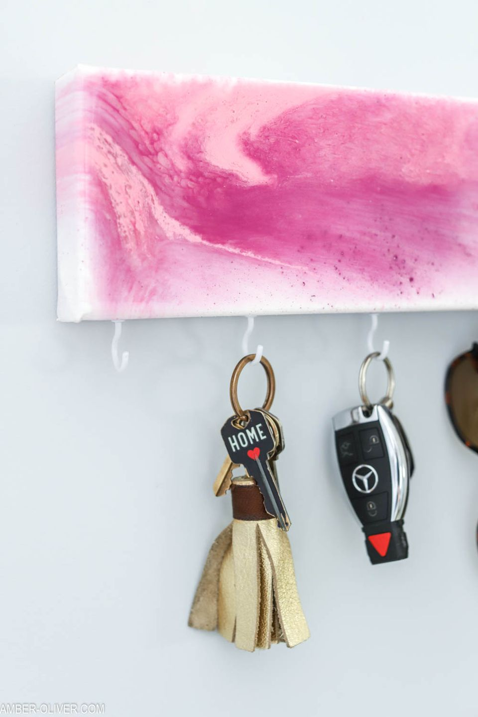 Resin Key Holder