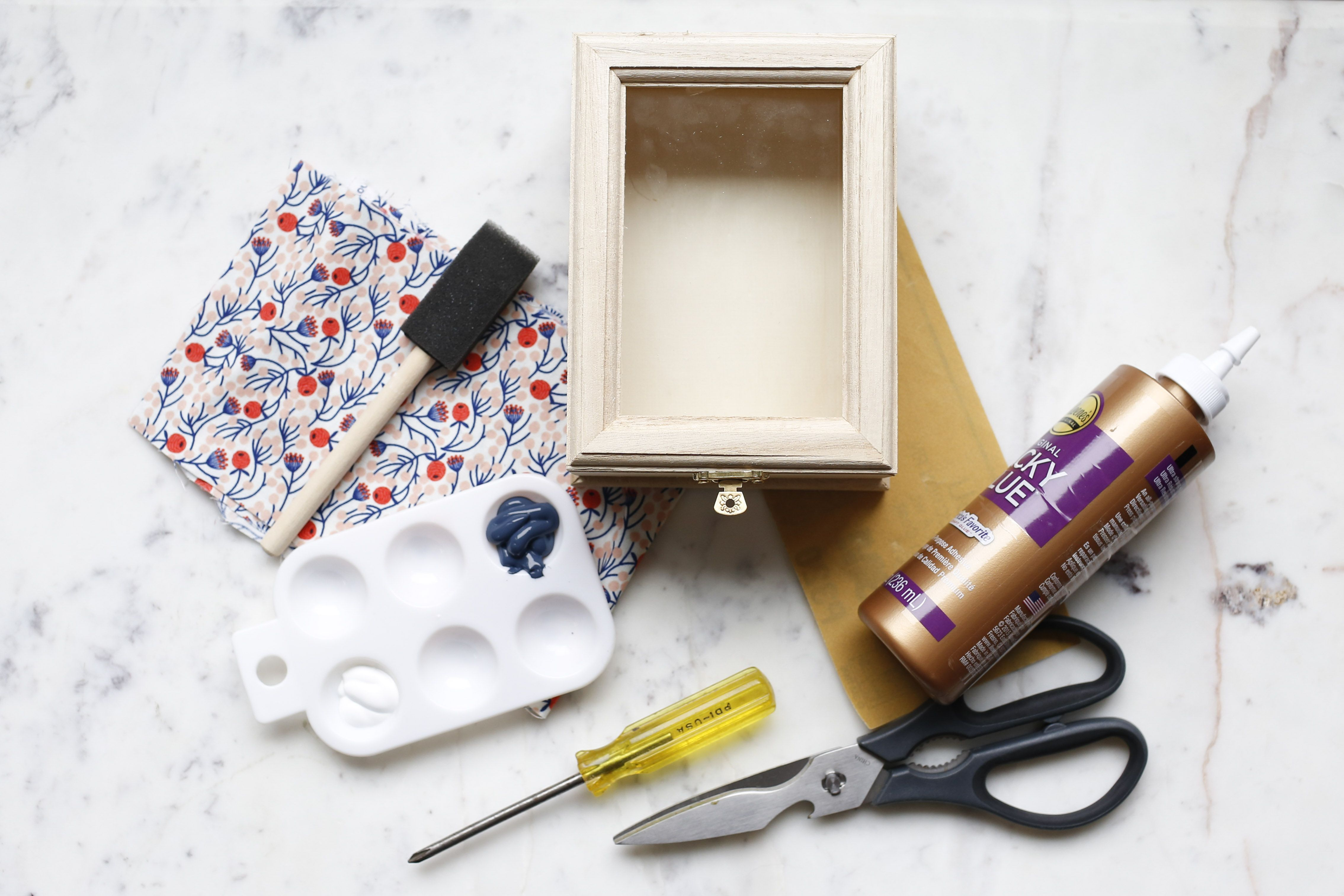 Jewelry box materials