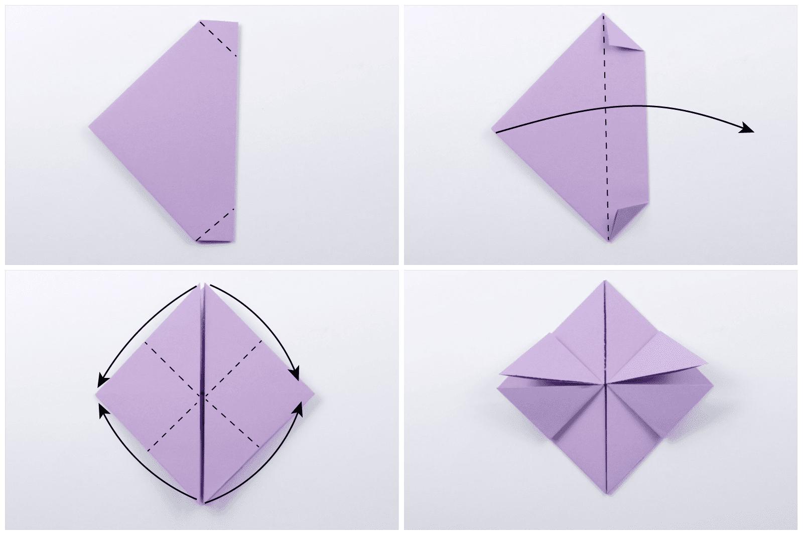 Origami Dollar Heart Tutorial 04