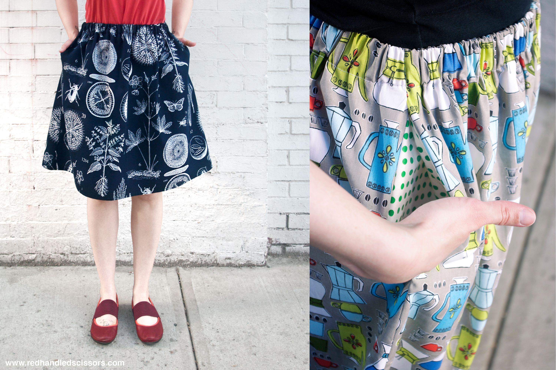 Summer Skirt With Pockets Tutorial