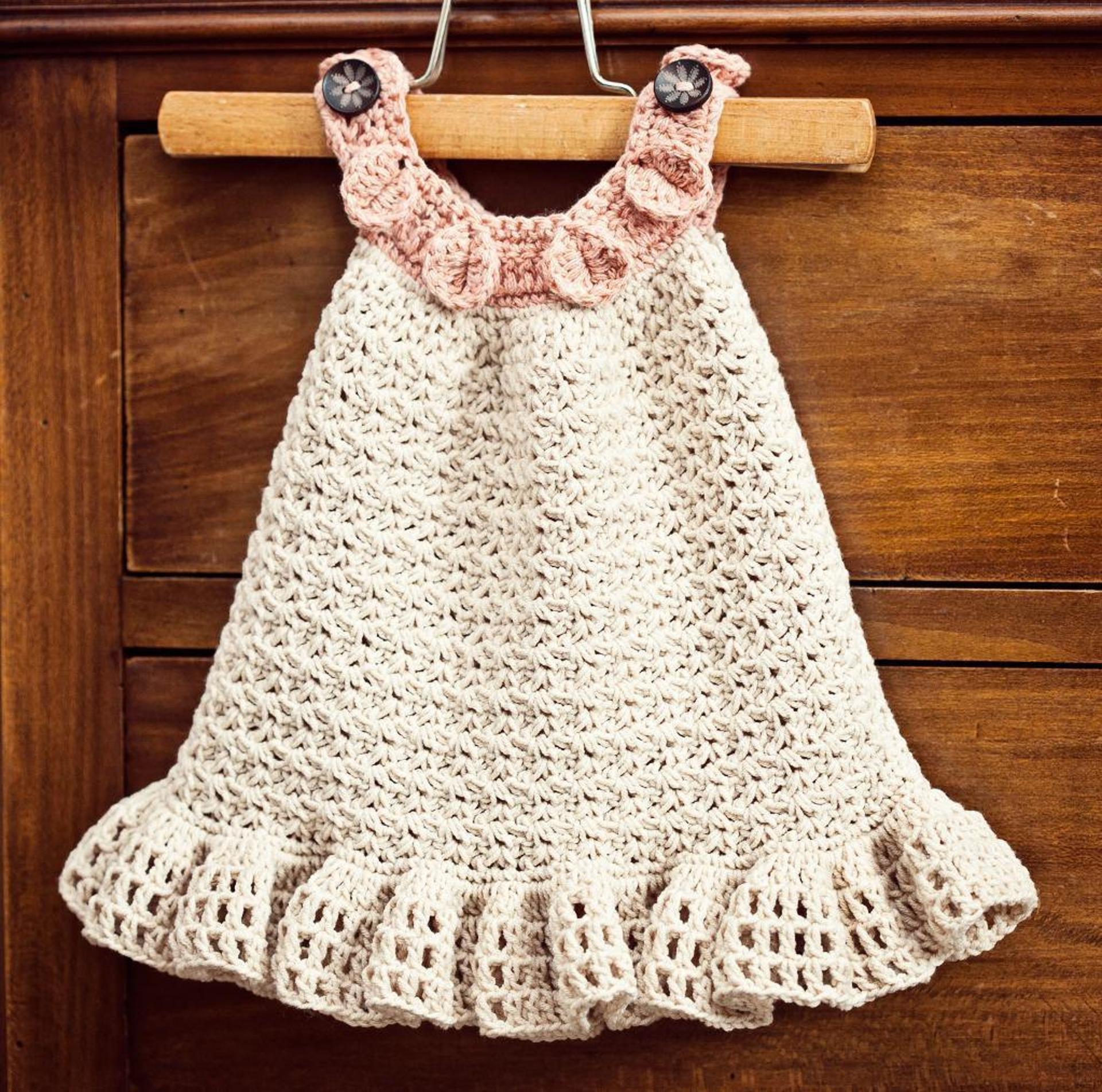 4fa97b850 15 Precious Crochet Newborn Dress Patterns