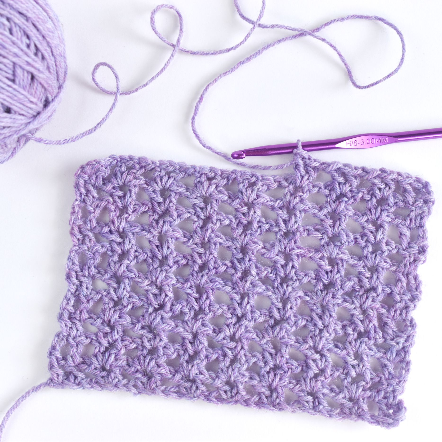 Crochet The Basic V Stitch Easily